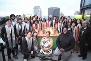 Ervin Scholars at Commencement