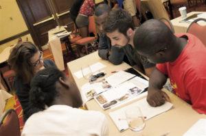 Students at Ervin Orientation