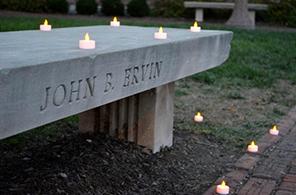 John B. Ervin bench