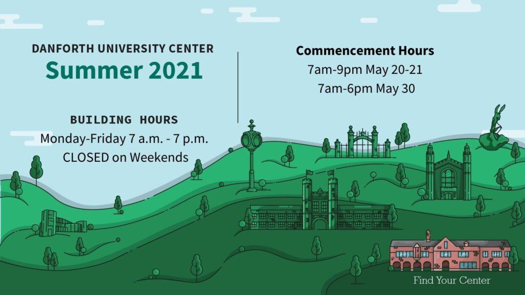 DUC Hours Summer 2021