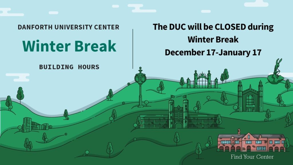 DUC Winter Break hours
