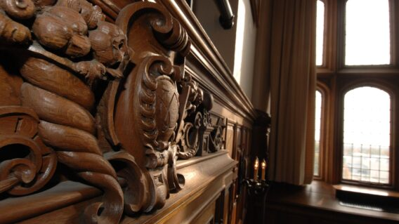 Ornamental woodwork in Brookings 300
