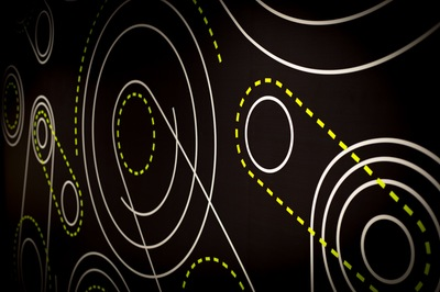 Wall graphics in Wigdor Cycling Studio
