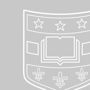 WashU shield
