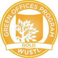 Gold Green Offices Program logo