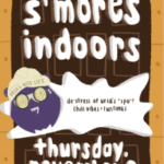 Ursa's S'mores indoors ad
