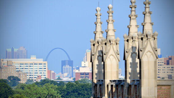 Skyline view of St. Louis