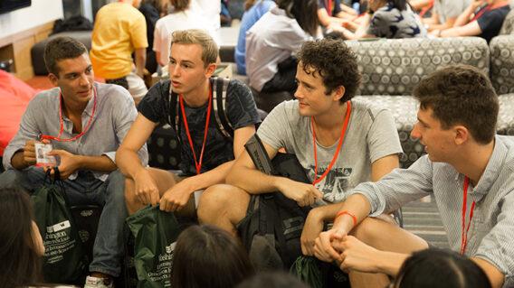 International Students at Pre-Orientation