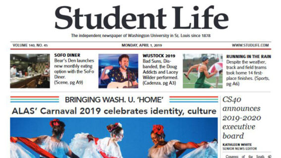 Student Life front page