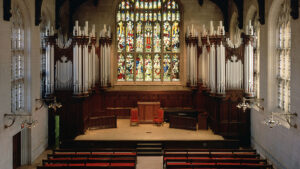 Inside Graham Chapel