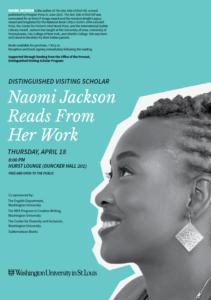 Margins to Center program with Naomi Jackson
