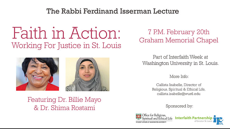 Isserman Lecture information
