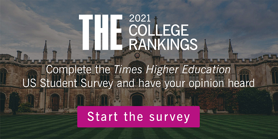 THE College Rankings Survey