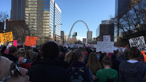 St. Louis racial equity march