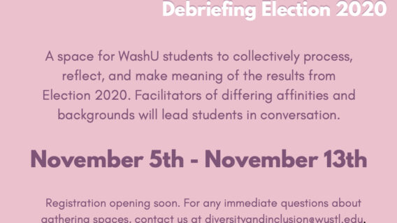 Gathering Spaces: Debriefing Election 2020