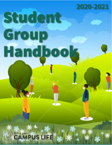 Student Group Handbook cover
